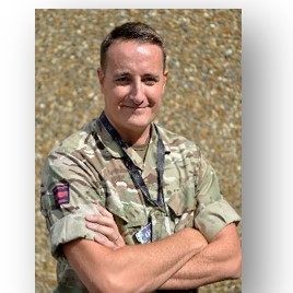 Maj Paul Hurst, Senior Instructor at Geospatial Information Management Wing at the Defence School of Geospatial Intelligence