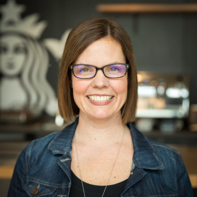 Molly Hill, VP, Global Talent at Starbucks