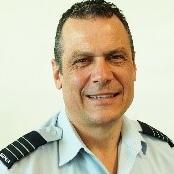 Group Captain John Grime, Commanding Officer of 92 Wing at Royal Australian Air Force