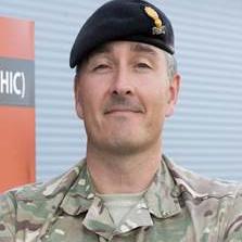 Lt Colonel Paul Hammett, Commanding Officer, 42 Engr Regt (Geo) at Joint Forces Intelligence Group, UK MoD