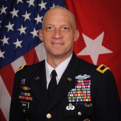Brigadier General Johnny Davis, Commanding General at Joint Modernization Command,  Futures and Concepts Center, Army Futures Command U.S. Army Joint Modernization Command