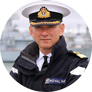 Commodore Ian Annett, CIO and ACOS Information Warfare at Royal Navy