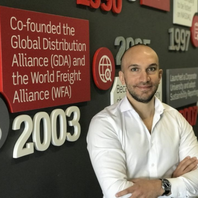 Mohammed Sleeq, Chief Digital Officer at Aramex