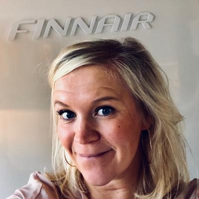 Ruusa Koskelainen, Head of eCommerce Marketing & CRM at Finnair