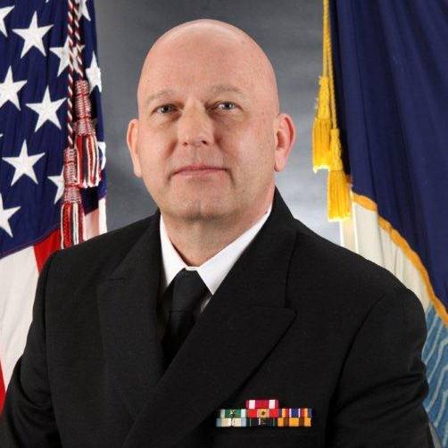 Rear Admiral Dr. Charles Harr (USN, Retired), Former Medical Officer of the US Marines Corps at Chief Medical Officer at WakeMed