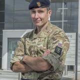 Colonel Roly Cockwell, Department Head Joint User C4ISR, Joint Forces Command at UK MoD