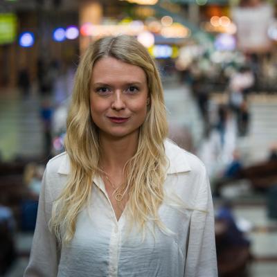 Ida Josefsson, Head of Strategy and Innovation, Channel development at SJ