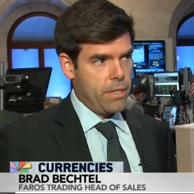 Brad Bechtel, Global Head of FX at Jeffries