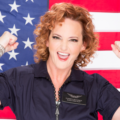 Elizabeth McCormick, Former US Army Black Hawk Pilot at Motivational Speaker