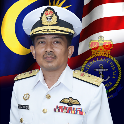 First Admiral Ahmad Shafirudin