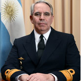 Rear Admiral David Burden, Director General of Materiel at Argentine Navy