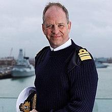 Vice Admiral Jeremy Kyd CBE