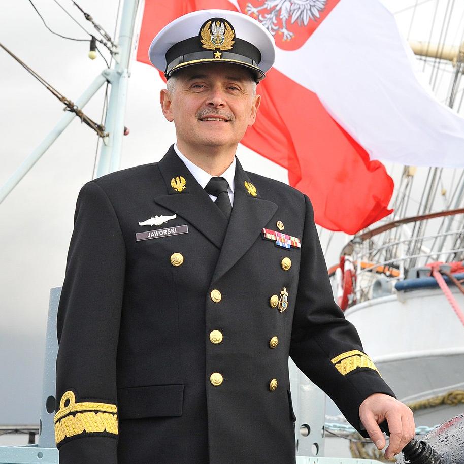 Rear Admiral Krzysztof Jerzy Jaworski