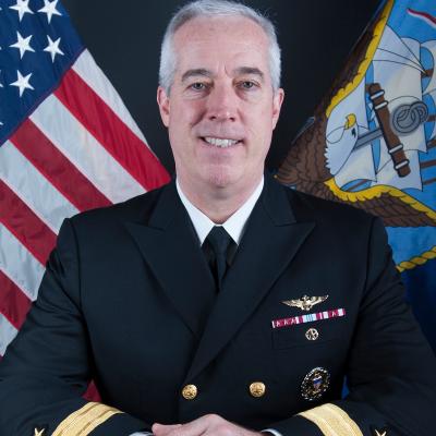 "Rear Admiral John F. ""Oscar"" Meier"