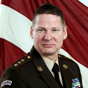Colonel Martins Liberts, Head at Latvian Geospatial Information Agency
