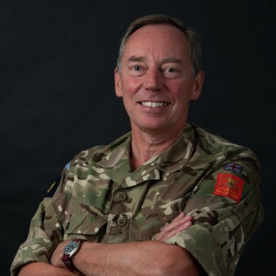 Lieutenant General Chris Tickell