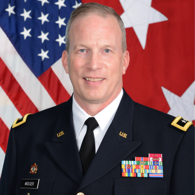 Major General Gregory J. Mosser, Commanding General, 377th Theater Sustainment Command at US Army Reserve