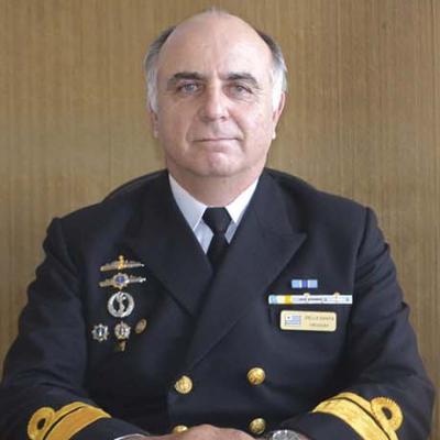 Rear Admiral Ricardo Della Santa
