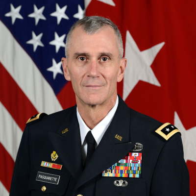 Lieutenant General James F. Pasquarette
