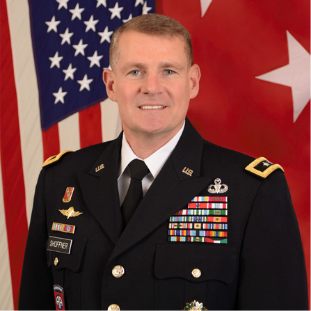 Major General Wilson A. Shoffner, Commanding General, Fires Center of Excellence and Fort Sill at US Army