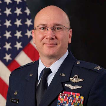 Colonel Richard Dickens, Commander, 505th Command and Control Wing at US Air Force