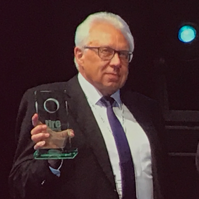 Hans-Rudolf Hein, Winner of the Lifetime Achievement Award at /