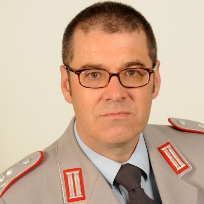 Lt Colonel Soenke Fischhoefer