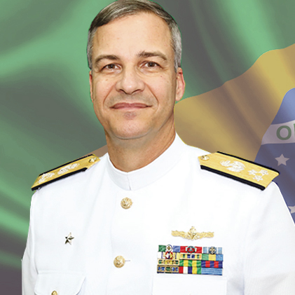 Vice Admiral Jose Augusto Viera da Cunha Menezes
