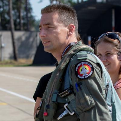 Colonel Nico Claessens, Chief Combat Capability at Belgian Air Component