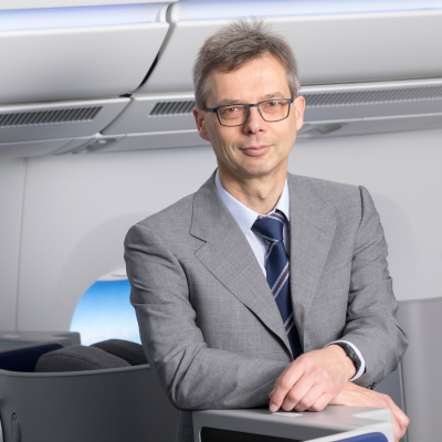 Eckhard Roeske, Head of Seats at Airbus