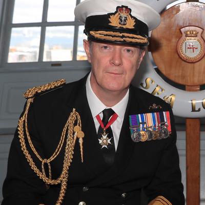 Vice Admiral Nicholas W. Hine CB