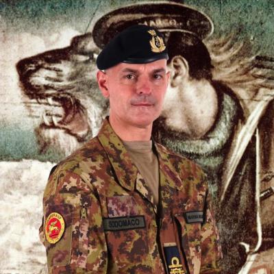 Rear Admiral Alberto Sodomaco
