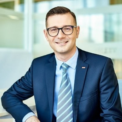 Jarek Wojnarowski, SSC Director at Velux
