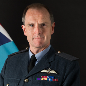 Air Marshal Gerry Mayhew CBE, Deputy Commander Operations at Royal Air Force HQ