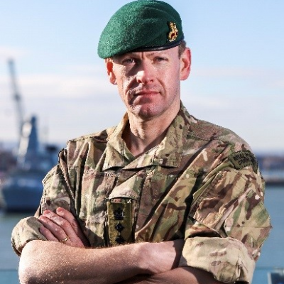 Colonel Dan Cheesman, Chief Technology Officer at Royal Navy