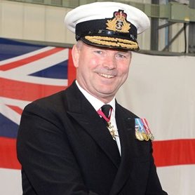 Vice Admiral Alan Richards