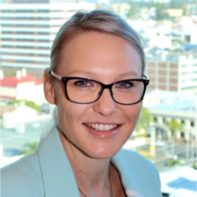 Carly Irving, General Manager, Customer and Market Operations at Energy Queensland