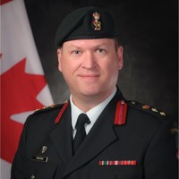 Colonel Mark Parsons, Director of Land Command Information at Canadian Army
