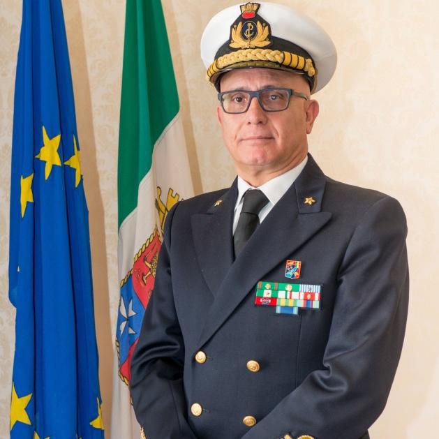 Vice Admiral Matteo Bisceglia