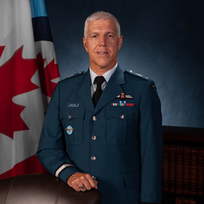 Brigadier General M. Leblanc, MSM, CD