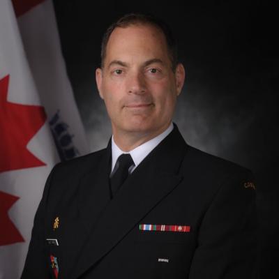 Rear Admiral Brian Santarpia