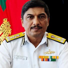 Vice Admiral Sandeep Naithani