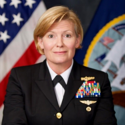 Rear Admiral Heidi Berg, Head of Intelligence at US AFRICOM