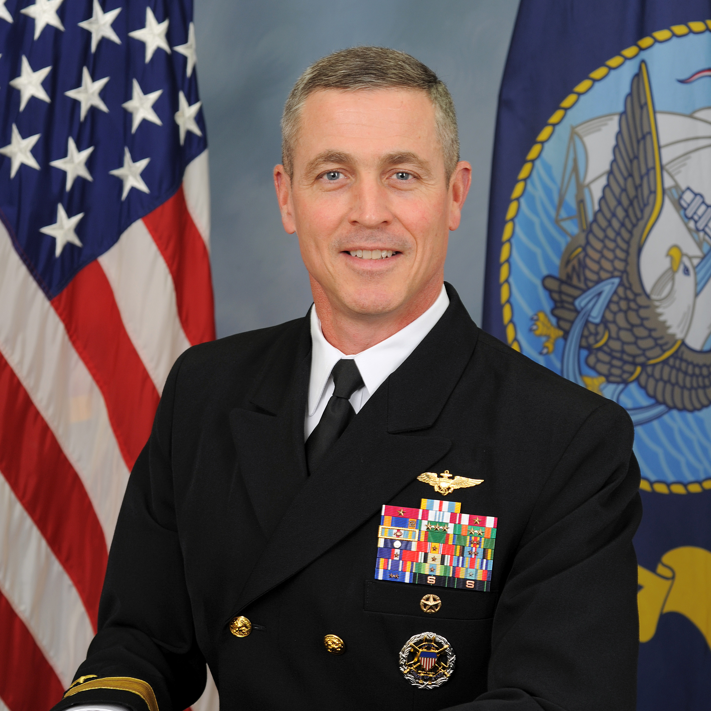Rear Admiral Pete Garvin, Commander, Patrol & Reconnaissance Group at U.S. Navy