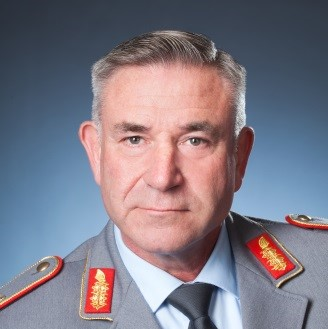 Brigadier General Ralph Lungershausen, Chief of Division Planning II, Strategic Capability Development at Bundeswehr