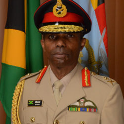 Lieutenant General Rocky Meade, Chief of Defence Staff at Jamaican Defence Force