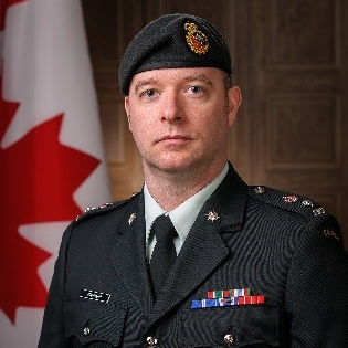 Lt Colonel Albert Mannard, Commanding Officer at Canadian Forces Joint Imagery Centre
