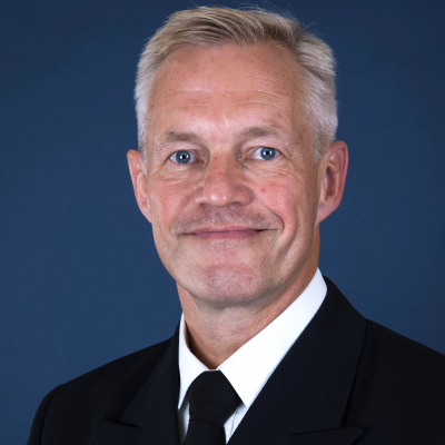 Rear Admiral Nils Andreas Stensønes