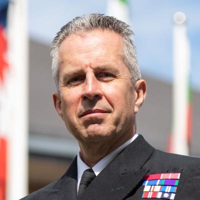 Vice Admiral Keith E. Blount, CB OBE