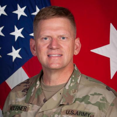Major General Darren Werner
